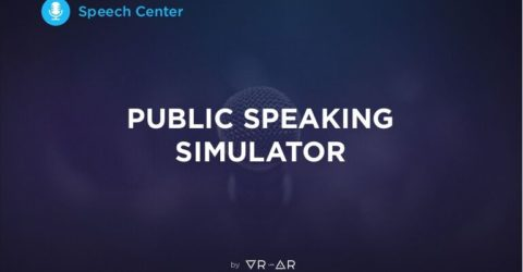 Speech Center VR (public speaking simulator)